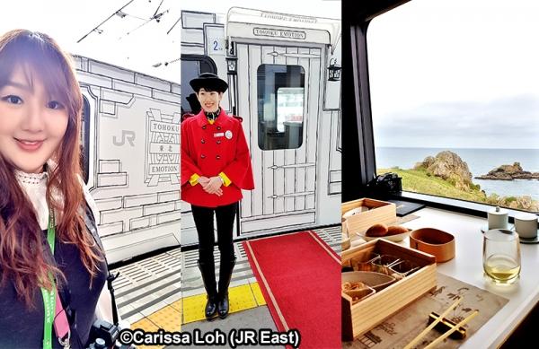 TOHOKU EMOTION - Chuyến tàu kiêm nhà hàng cao cấp
