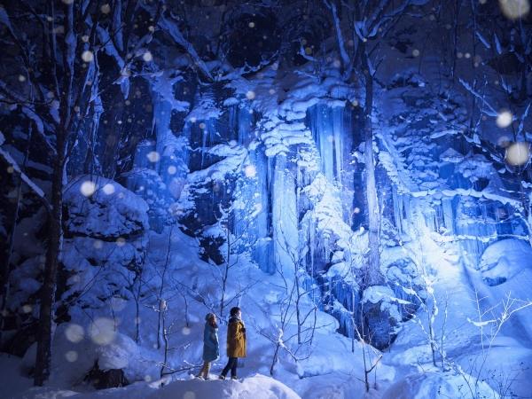 Xứ sở thần tiên mùa đông ở Oirase Keiryu!