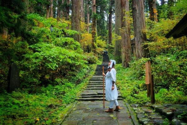 "Seeking spirituality: A ""Journey to Rebirth"" at Dewa Sanzan"