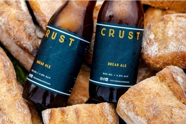 A toast to sustainability from Singapore to Japan: CRUST Pilsner Beer
